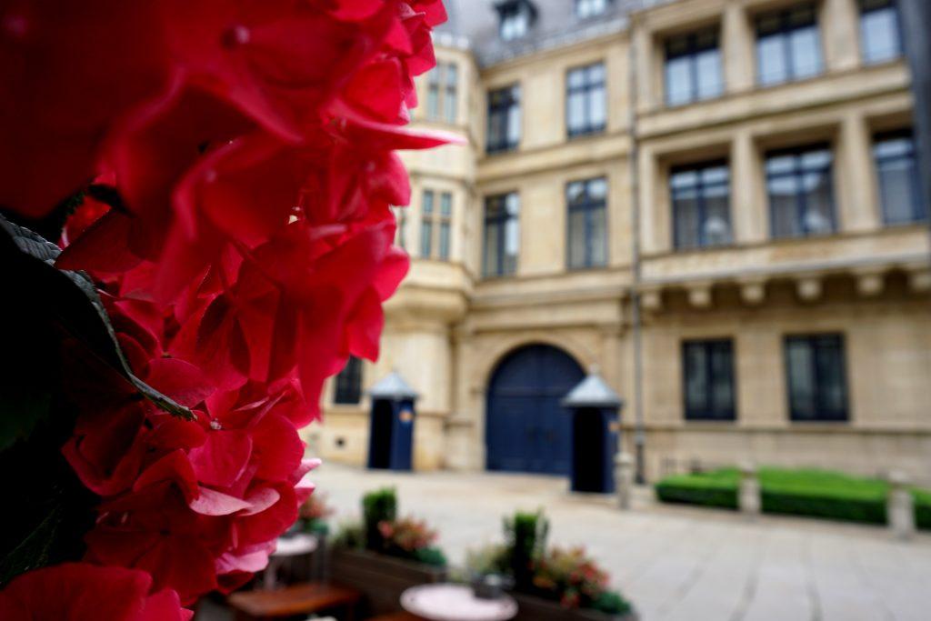 Foto del Palazzo Granducale di Lussemburgo.