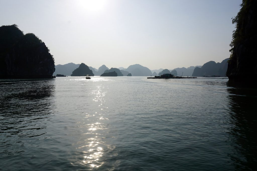 Foto del paesaggio di Ha Long Bay.