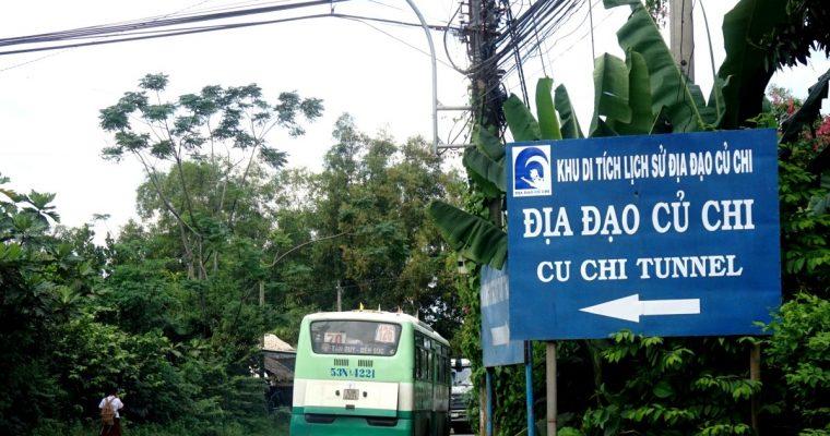Cu Chi Tunnels con autobus pubblico