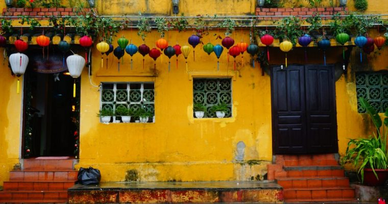 Hoi An: tra lanterne e muri gialli