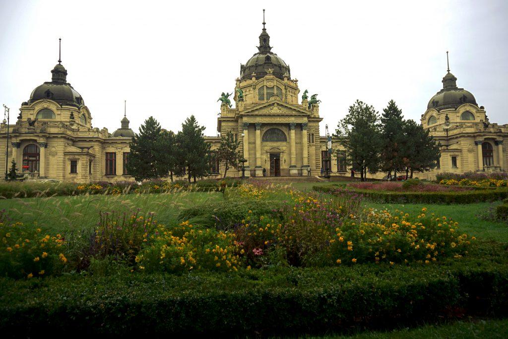 Foto delle terme di Budapest.