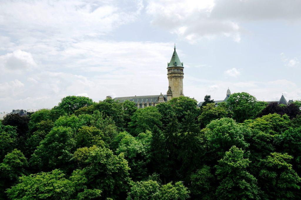Foto del Forte Bourbon a Lussemburgo.