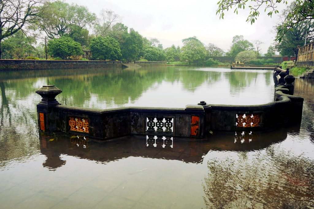 Foto della cittadella di Hue, Vietnam.