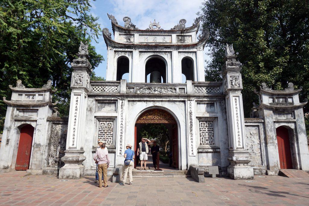 Foto del Temple of Literature di Hanoi, Vietnam.