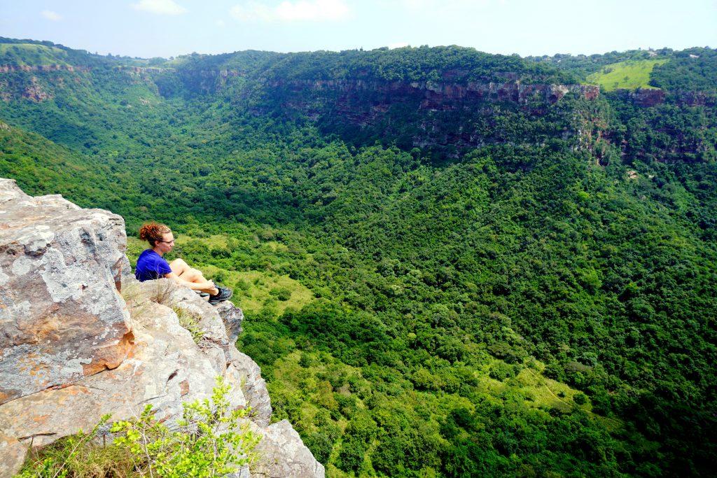 Foto della Krantzkloof Nature Reserve, una cosa da visitare nei dintorni di Durban, Sudafrica.