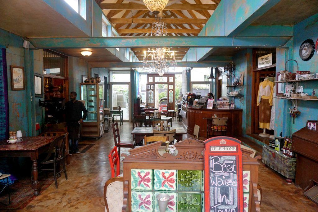 Foto dell'Antique Cafe, un posto dove mangiare a Durban.