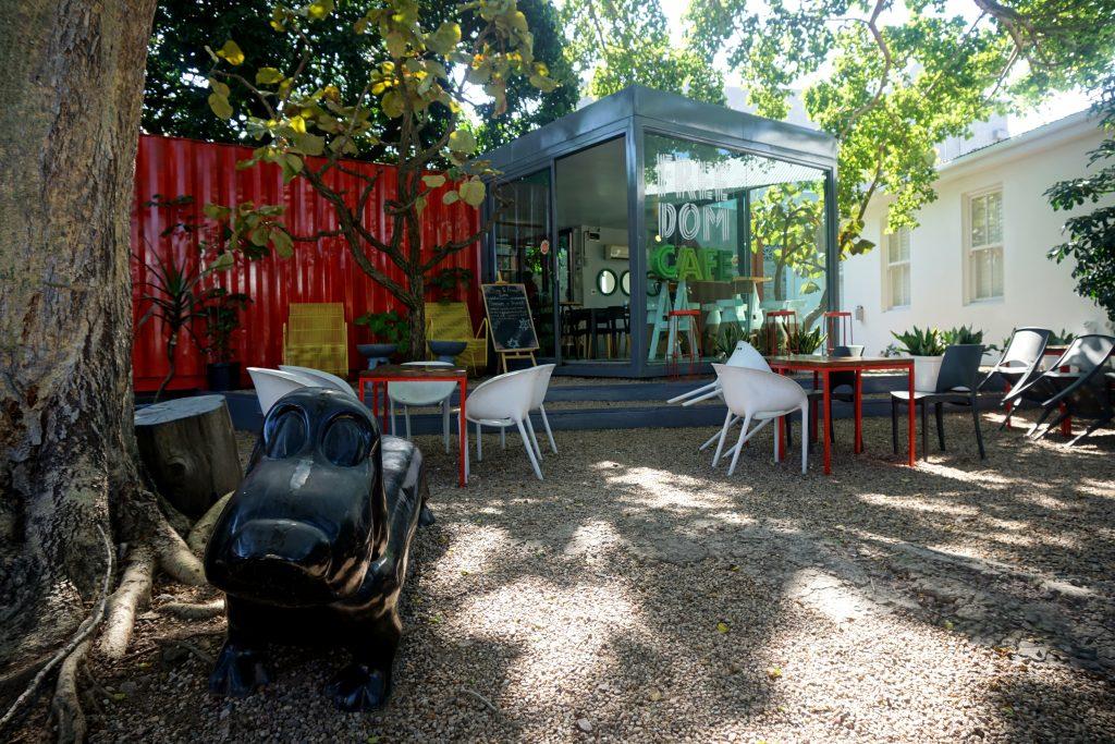 Foto del Freedom Café a Durban, Sudafrica.