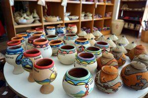 Foto di souvenir tipici del Lesotho.