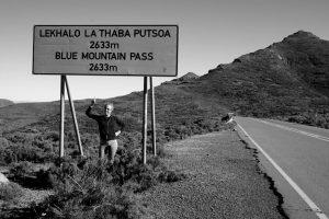 Foto del Blue Mountain Pass in Lesotho.