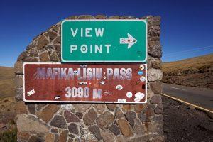 Foto del Mafika Lisiu Pass in Lesotho.