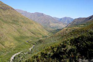 Paesaggio nel Ts'ehlanyane National Park.
