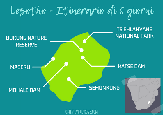 Itinerario 6 giorni in Lesotho