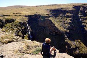 Foto delle Lepaqua Falls, in Lesotho.