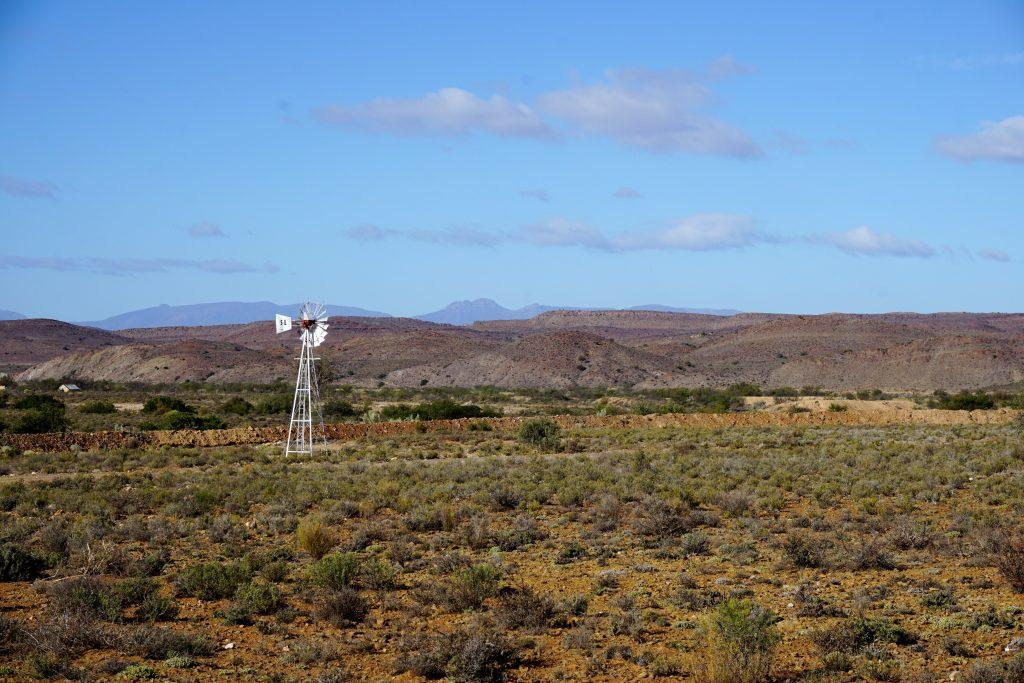 Foto di un paesaggio nel Little Karoo, Sudafrica.