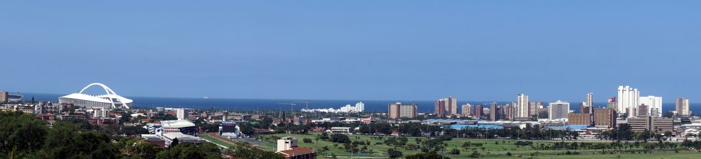 Panorama di Durbn dalla Currie Road.