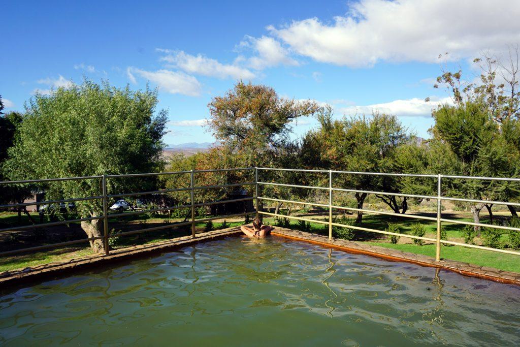 Foto delle Terme di Warmwaterberg nel Little Karoo, Sudafrica.