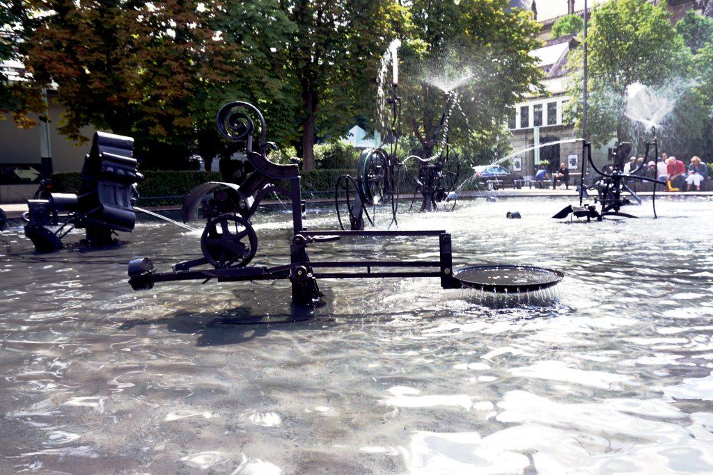 Foto della Canival Fountain a Basilea.