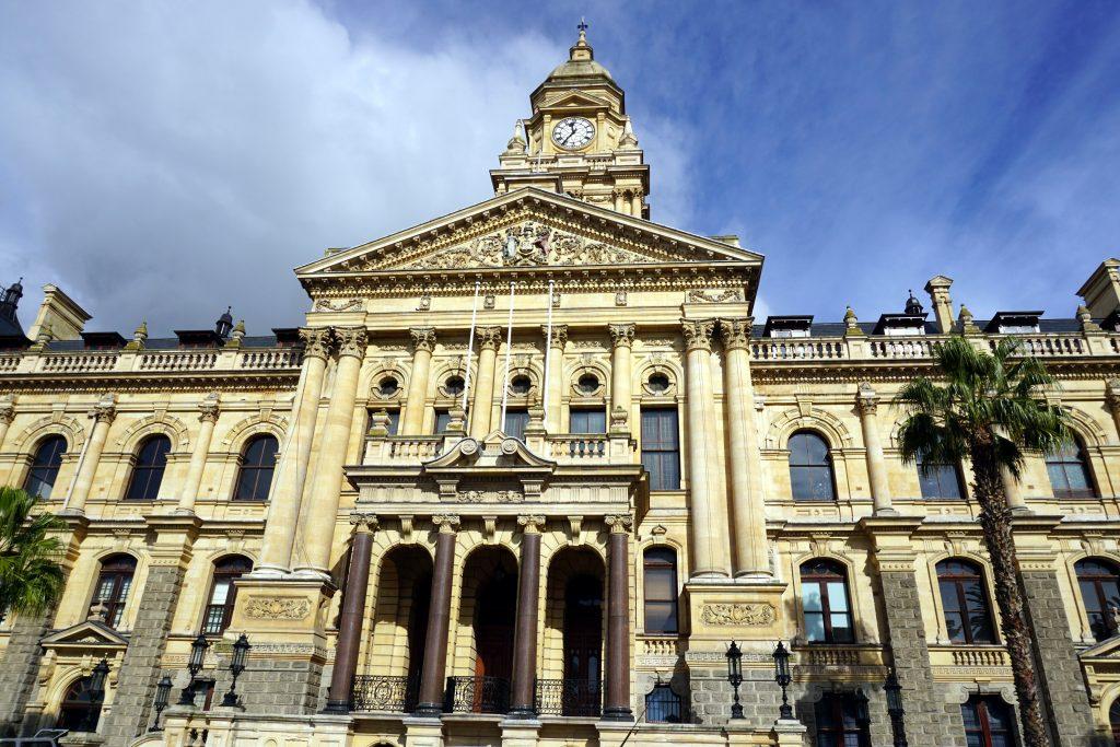 Foto del municipio di Città del Capo.