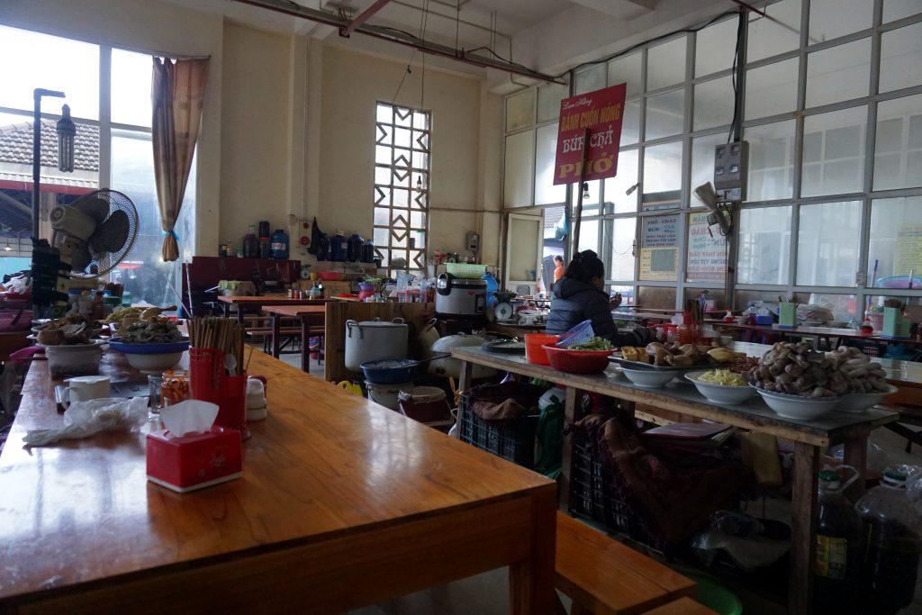 Fotografia del mercato di Sapa, Vietnam.
