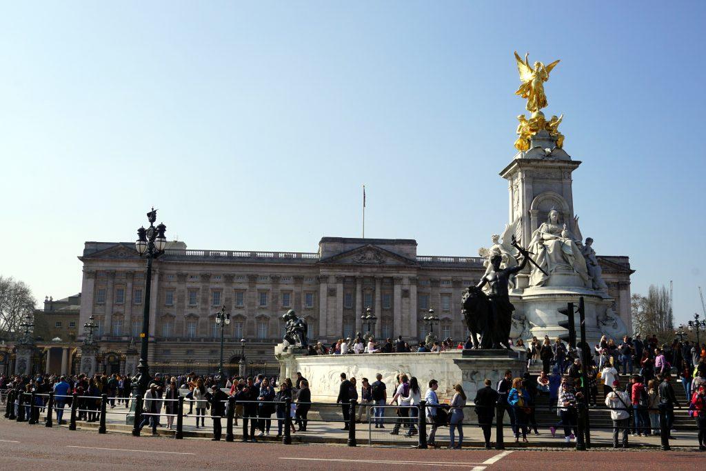 Foto di Buckingham Palace, Londra.