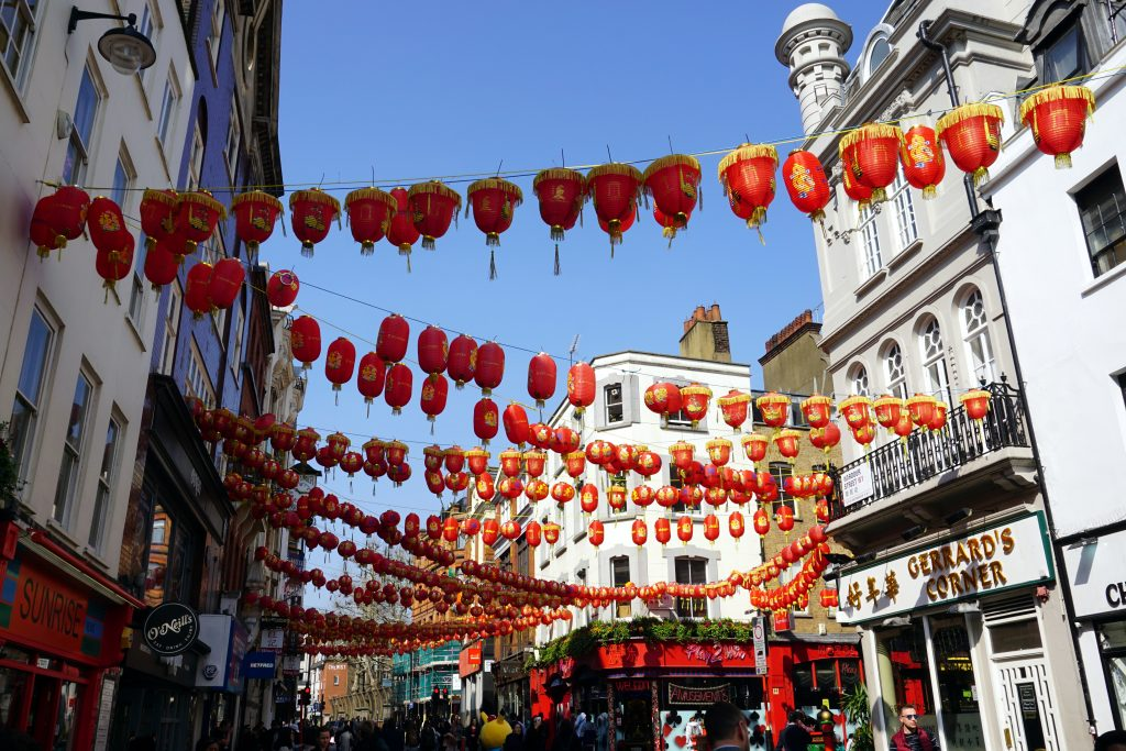 Foto di China Town, Londra.