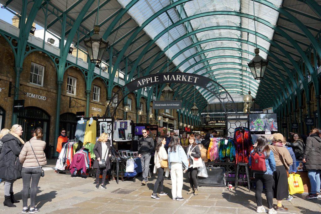 Foto di Covent Garden, Londra.