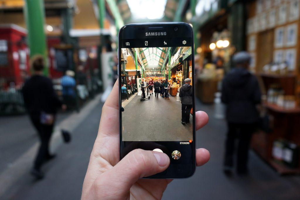 Foto del Borough Market a Londra.