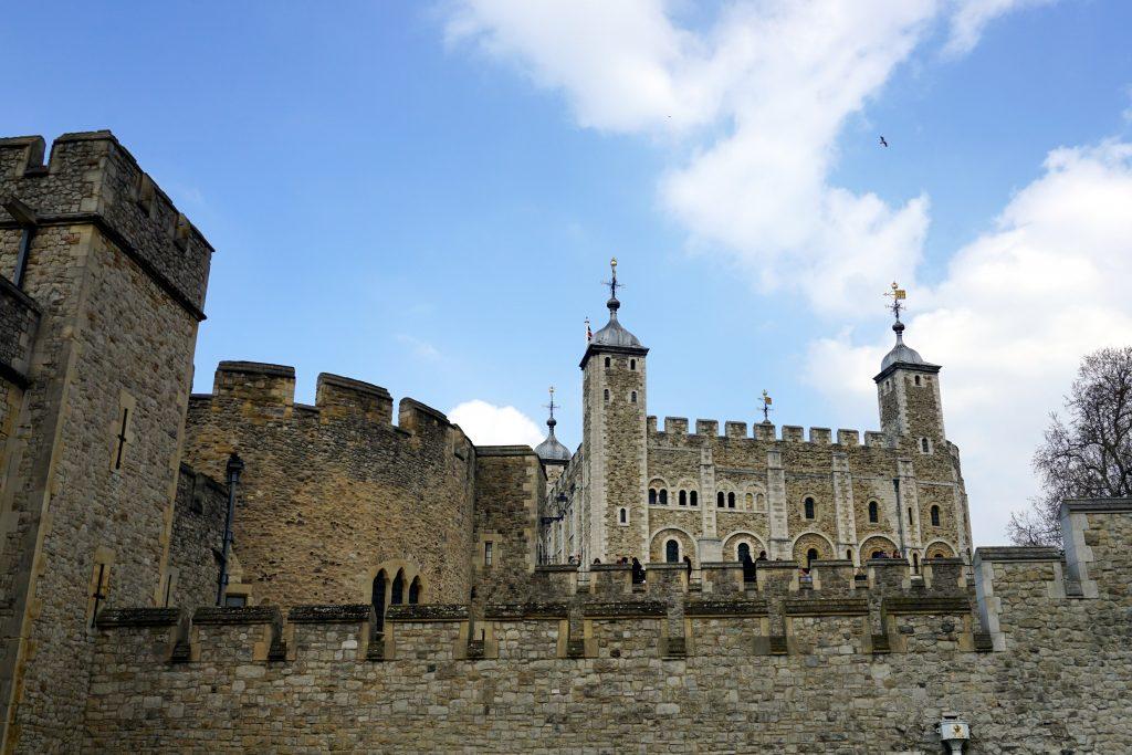 Foto della Tower of London.