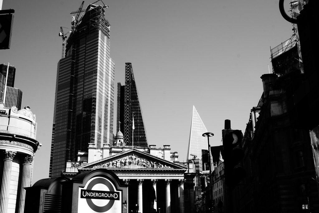 Foto del centro di Londra.