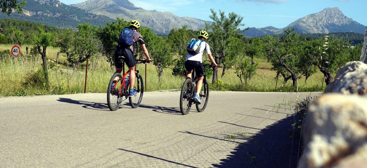 2 itinerari in bicicletta nei dintorni di Palma di Maiorca