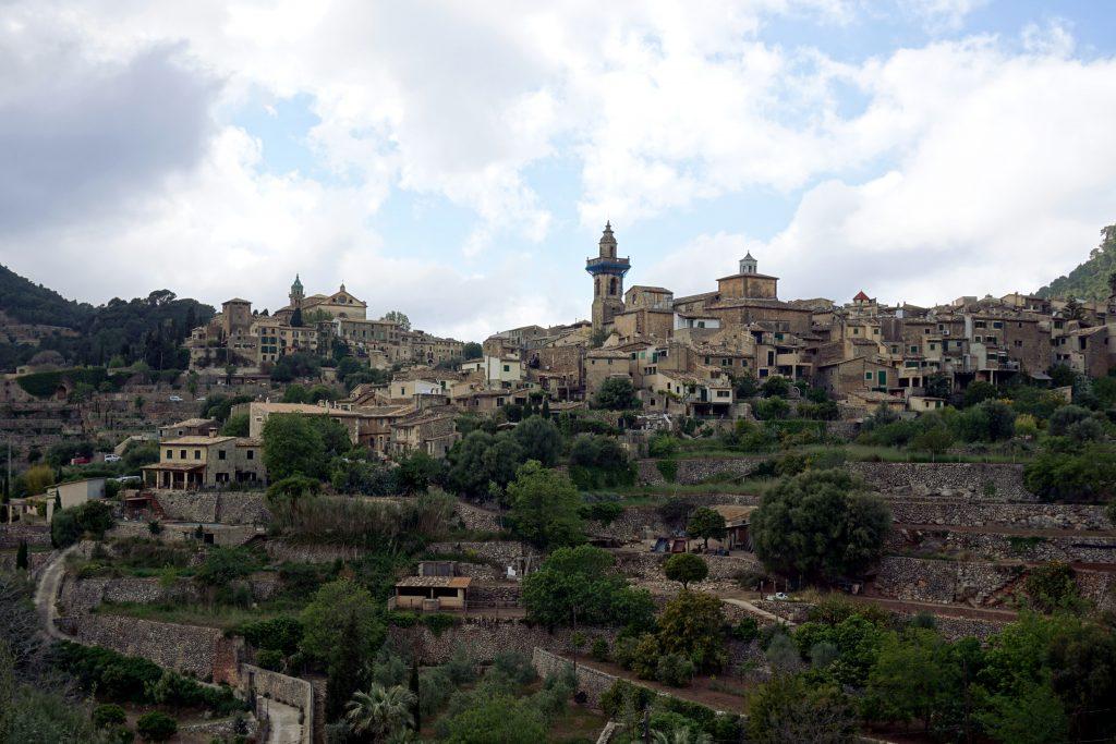 Foto del paese di Valdemossa, Maiorca.