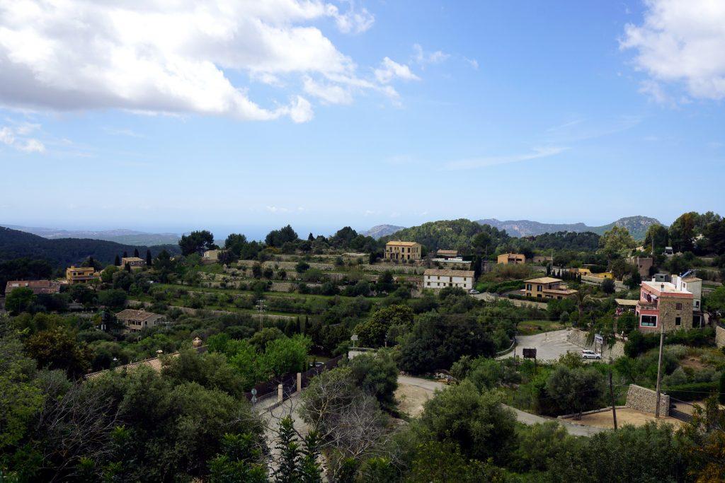 Foto panoramica di Galilea, Maiorca.