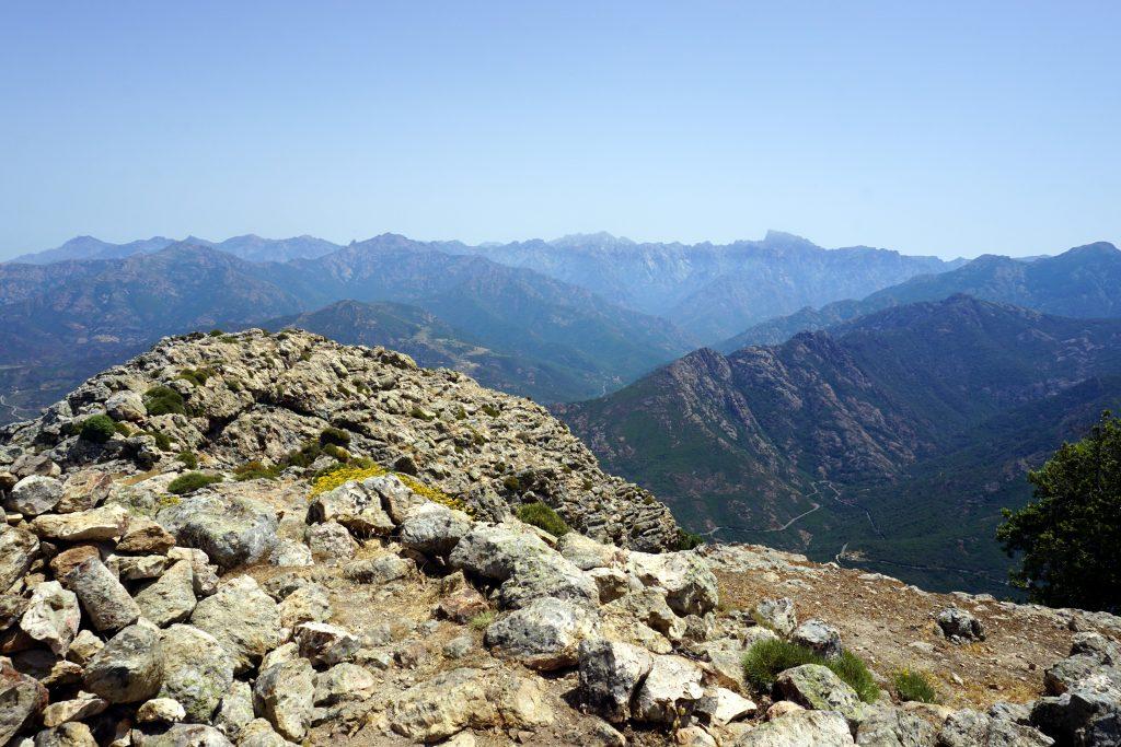 Foto dalla cima di Capu Tondu.