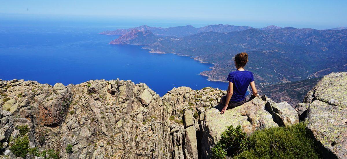 Foto da Capu d'Ortu, Corsica.