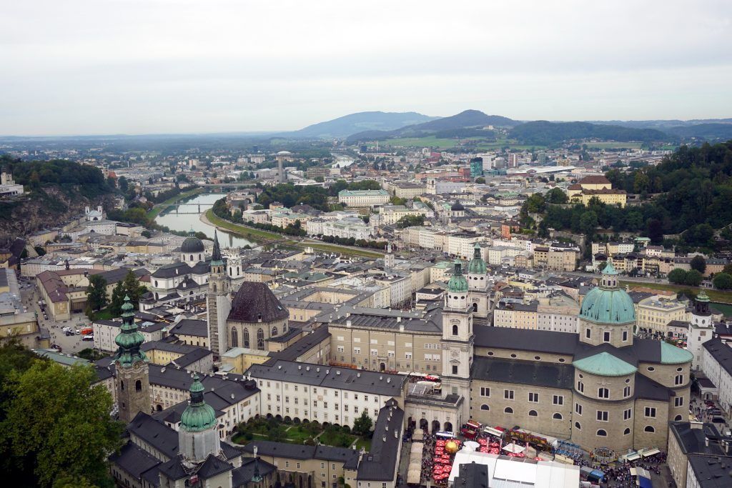 Salisburgo – Itinerario a piedi di un giorno