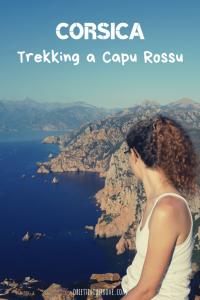 Trekking a Capu Rossu