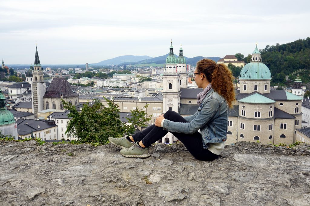 Foto di Salisburgo dalla Fortezza Hohensalzburg.