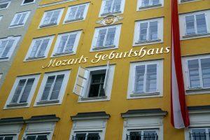 Foto dell Casa natale di Mozart, Salisburgo